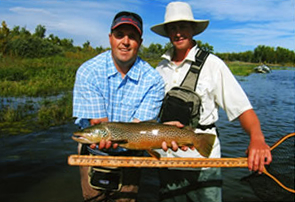 Beau McFadyean, owner & outfitter