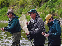 The Yellowstone River has over 100 miles of fishable waters in Southern Montana.